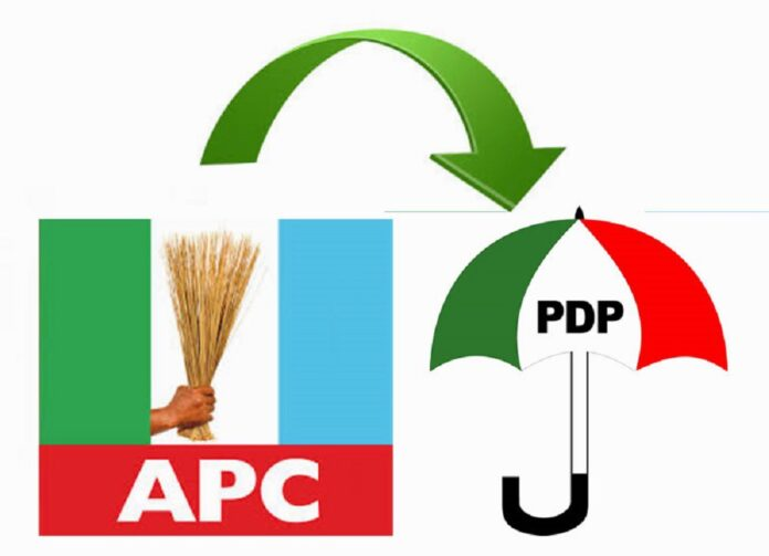 2 APC leaders in Benue defect to PDP