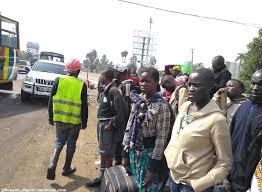 Driver abandons Lagos-bound passengers at accident scene in Ekiti