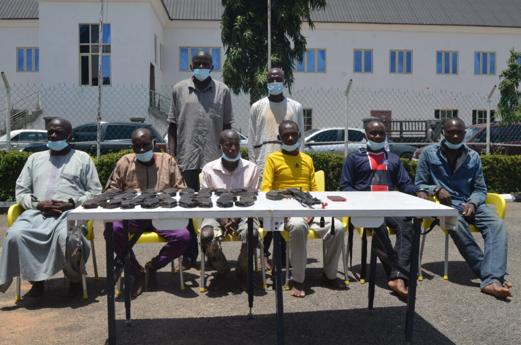 Eight suspects arrested by the police over the abduction and murder of Pa Dariye