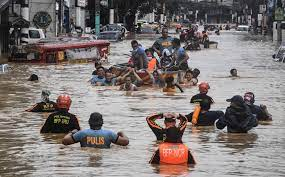 9 Die, 11 Missing As Tropical Storm Batters Philippines